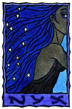 Nyx, Greek Goddess of the Night