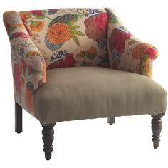 Andrew Martin Furniture Andrew Martin Kilim Danta Chair found on Polyvore