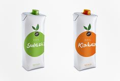 Juice of Classic Japanese Fruits packaging by Idea Brand 03
