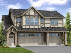Carriage House Plan, 051G-0101  ~ Great pin! For Oahu architectural design visit http://ownerbuiltdesign.com