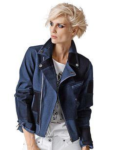 Alba Moda - Jeansjacke denim-blue im Heine Online-Shop ➤ Jetzt günstig bestellen auf heine.de