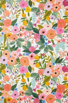 Rifle Paper Co. Garden Party Wallpaper | Anthropologie