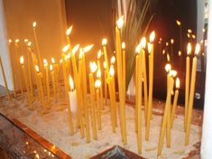 The Meaning of Candles in the Greek Orthodox Church