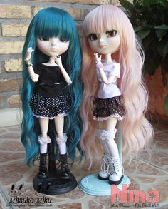 Tão fofas^^ by ♥ Kety Marques -Mundo Doll ♥, via Flickr