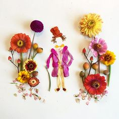 She's also made Willy Wonka and the Chocolate Factory… | This Woman Makes Beautiful Art Out Of Things She Finds In Her Garden