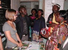 Elena at work at PIPAD NGO in Dschang (Cameroon)