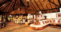Parks, Safari, River Lodge, Bar Interior, Beach Bars, African, Table Decorations, Outdoor Decor, Interiors