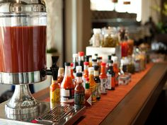 Paramour's Sunday Brunch boasts a Build-Your-Own Bloody Mary Bar, with the region's most extensive selection of mixers, garnishes and more for the classic morning cocktail made your way.