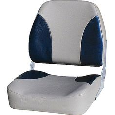 WISE Big Man High-Back Folding Boat Seat