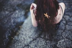 The Little Mermaid: Girl with starfish in her hair Photo by Stephanie Marie