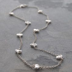 Heart Chain Necklace, £97, now featured on Fab.