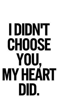 My Heart Did