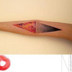 Tatouages aquarelle par Ondrash - Journal du Design