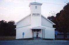 Indian Creek Baptist Church in Campbell County, Tenn.