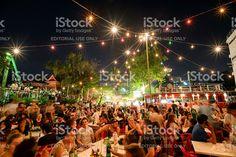 Super fullmoon Loi-Krathong festival royalty-free stock photo