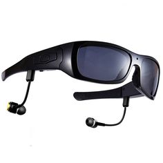 77b7ed0e32 Forestfish Bluetooth Sunglasses with Camera 8GB SD Card HD 720P Video  Recorder Camera Glasses Headset for