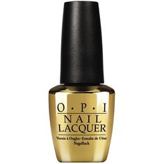 #OPI - The Man With the Golden Gun  18ct Gold Leaf Top Coat.  I want this but a 45 dollar price tag? #IdontThinkSo