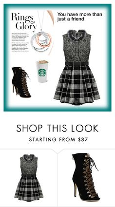 """""""Rings Of Glory"""" by cutiepug ❤ liked on Polyvore featuring beauty and Tiffany & Co."""
