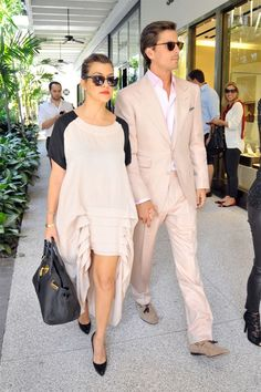 Kourtney and Scott; definitely the classiest couple