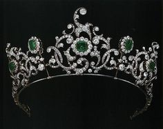 Emerald Tiara Alternate: Duchess of Devonshire Emerald Tiara