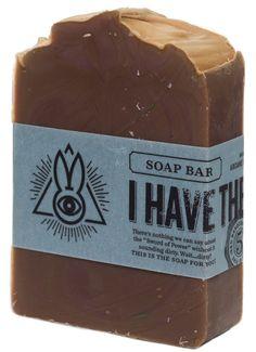 ARCANE BUNNY SOCIETY I HAVE THE POWER SOAP $7.00 #arcanebunnysociety #soap #vegan