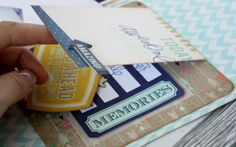 cards on layouts- lift the flap inside the card - #heidiswapp #heidiswapphellotoday