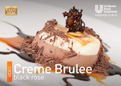 CREME BRULEE BLACK ROSE Rose, Desserts, Black, Tailgate Desserts, Pink, Deserts, Black People, Postres, Roses
