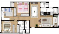 modelo-de-planta-de-casa-com-3-quartos