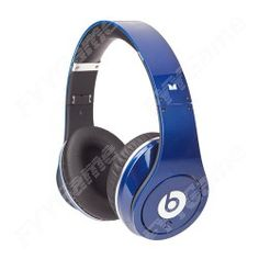 Monster Beats by Dr. Dre Studio High-Definition Headphones - Blue  http://www.fyygame.com/monster-beats-by-dr-dre-studio-headphones-blue.html