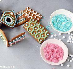 Piparkakkutalo – katso kaikki taikinasta kaavoihin ja sokerikuorrutteisiin!   Kotivinkki
