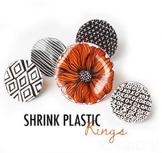 I love shrink plastic! There are so many different ways to put it to use and one of my favorites...