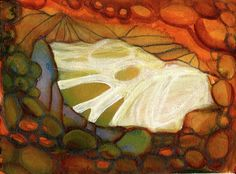 Chrysalis - Watercolour & Gouache