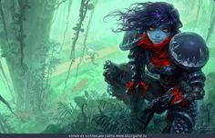 Forsaken Rogue by Yaorenwo » Галерея » World of Warcraft