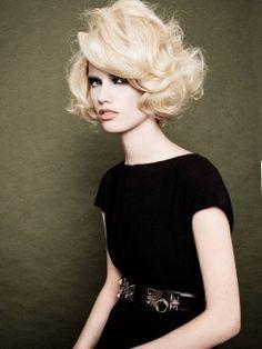 Rhianna   eMg Models   Sydney Model Agency #marilynmunroe #blondewig #1960s