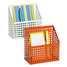"""Circuit Magnetic Bin   6-1/4"""" x 3"""" x 5-7/8"""" h  $9.99 ea  Attach to metal rolling carts for extra storage."""