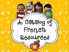Free - FRENCH Resources Catalog - practical and quick way of checking out my French resources (free and paid) Preschool Curriculum, Homeschool, French Websites, Teaching French Immersion, January 9th, Free French, French Stuff, French Classroom, French Resources