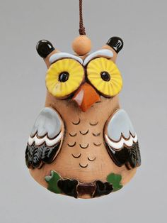 Being human is exhausting so be an owl. Owl Bell