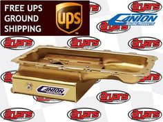 CANTON 15-794 ROAD RACING PRODUCTS WET SUMP OIL PAN FORD MODULAR V8 4.6 5.4L 6QT