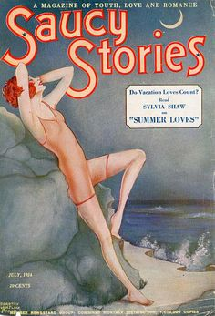 Saucy Stories Magazine July 1924