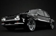 Ford Escort MK1 Black