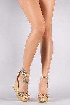 a6dc2bcaf290 Shop These fabulous wedge features a caged cutout design vamp
