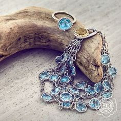 Drift into something blue, via @Tacori https://www.tacori.com/jewelry/collections/island-rains