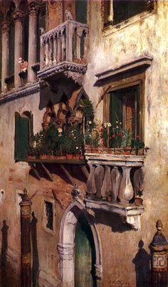 William Merritt Chase, Venice, 1877