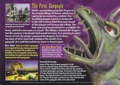 Card 68 - Gargoyles - Back