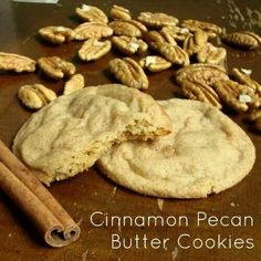 cinnamon pe an butter cookies