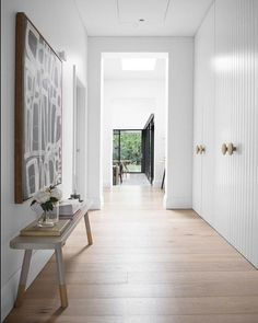 Such a free flowing, light filled space with our White Smoked floorboards to compliment the soft aesthetic of the house. Repost from…
