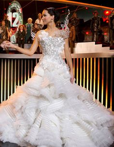 El vestuario de Los Juegos del Hambre: En llamas. Jennifer Lawrence