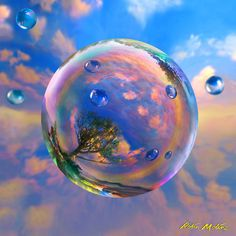 Image result for bubble paintings