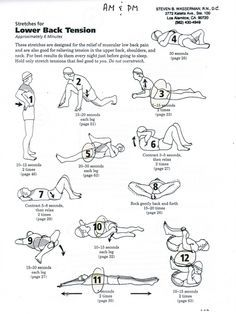to Stretch Your Lower Back Lower Back Stretches.These help ease sciatic nerve pain.Lower Back Stretches.These help ease sciatic nerve pain. Low Back Stretches, Lower Back Exercises, Stretching Exercises, Scoliosis Exercises, Back Stretching, Sciatica Stretches, Thigh Exercises, Fitness Workouts, Sciatic Pain