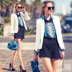 Smart Casual Summer Styling (by Dasha Gold) http://lookbook.nu/look/4680971-Smart-Casual-Summer-Styling